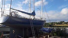 38 ft Sailing yacht