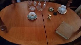 Retro Extending Dining Table & 4 Chairs
