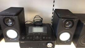 Sony Gigajuke NAS-e300Hd 80Gb sound system