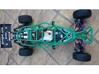 Petrol Rc Car 1/5 Scale Baja 5B Sandrail (Not Nitro)