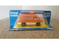 Corgi cubs express van
