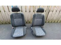 Misubishi Lancer Evo seats RS 4, 5, 6