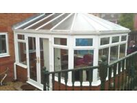 conservatory dismantled ready for collection 4mx3.75m vgc