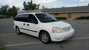 2005 FORD FREESTAR ,AB ACTIVE FAMILY VAN WORKING GREAT !!!