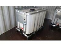 600 ltr IBC water tank