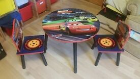 Disney macquuen table with chairs no time wasters please