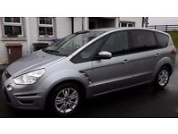 2013 FORD S MAX 2.0 TDCI ZETEC DIESEL FOR SALE