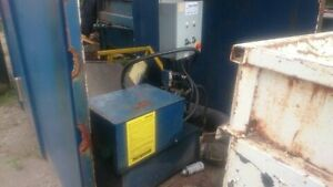 material compactor for waste bins London Ontario image 2