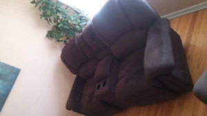 Reclining Love Seat & Chair