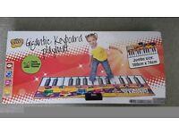 Kids giant play keyboard.