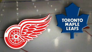 Maple Leafs vs Detroit Red Wings....March 7th....2 Tickets!