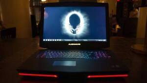 brand new alienware 18 laptop, built to the max. Perth Perth City Area Preview