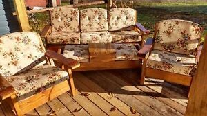 4 Piece Pine Furniture set (Indoor)