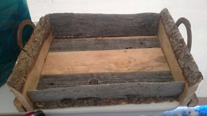 Real barn wood items for sale