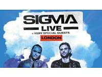 Sigma Live - Royal Albert Hall Arena Standing Ticket