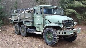 1953 M135 GMC DEUCE AND A HALF 6X6