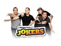 2x Impractical jokers tickets