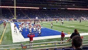 Detroit Lions row 6