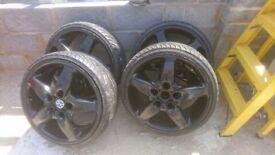 VAG or porche 20 inch alloy wheels