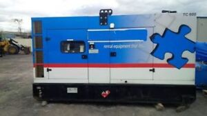 260 KW Mobile Dual Axle Trailer Diesel Generator Set