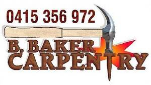 B. Baker Carpentry & property maintenance Forrestfield Kalamunda Area Preview