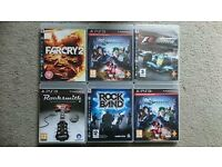 Job Lot 22 PS3 Games
