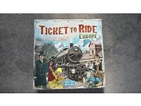 Ticket to ride Europe days of wonder board game
