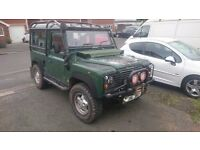 landrover defender 300tdi with lots of spares and new parts