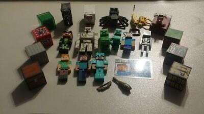 Minecraft Toys Action Figure Lot over 20pcs