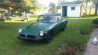 MG-MGB Overdrive VENTE RAPIDE