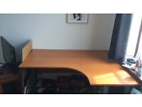 Corner Office Desk and Chair