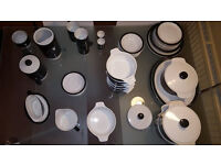 Poole Pottery - Charcoal Lot of 52 pieces