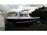 23ft Wilson Flyer, fast fishing boat