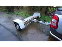 Towing dolly car transporter