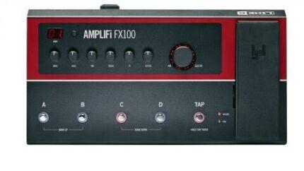 Line 6 amplifi fx100 guitar multi effects