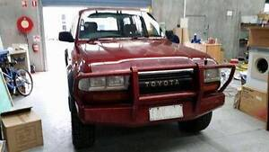 1993 TOYOTA LANDCRUISER 80 SERIES AUTO PETROL 4X4 NEGOTIABLE Hoppers Crossing Wyndham Area Preview