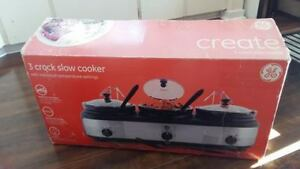3 in 1 crock, slow cooker