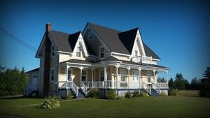 **GEORGEOUS VICTORIAN HOUSE**  (Inkerman NB)