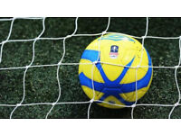 Football Friendly Opposition Required