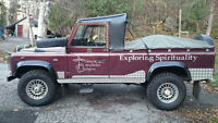 1986 Land Rover Defender 110 Convertible reduced to sell before