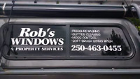 Book in for fall cleaning! Robs Windows and Property services.