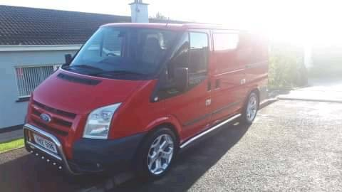 00a41d0fd8 Ford transit trend limited model. Newry
