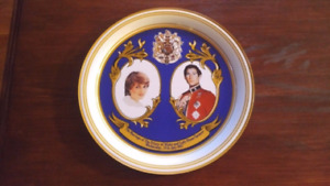Prince Charles and Lady Diana  Marriage - Ltd Edition Tray