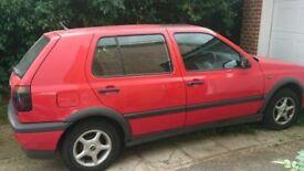 VW Golf 1.4 SE 1996