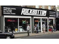 Sales Assistant Required - Pro Audio and Guitar Specialist
