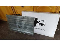 brand new large silver dog cage