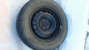 4 Firestone Winter Tires with Rims
