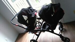counturs optiones double stroller