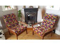 Restored Cintique retro armchair(s)