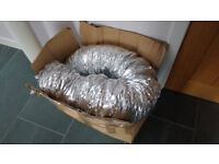 Insulated flexible ducting 150mm